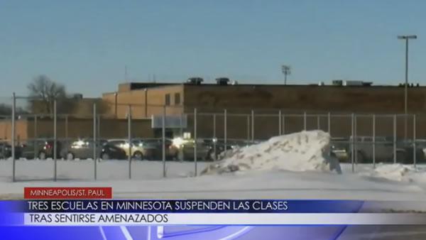 Tres escuelas en Minnesota suspenden las clases tras sentirse amenazados