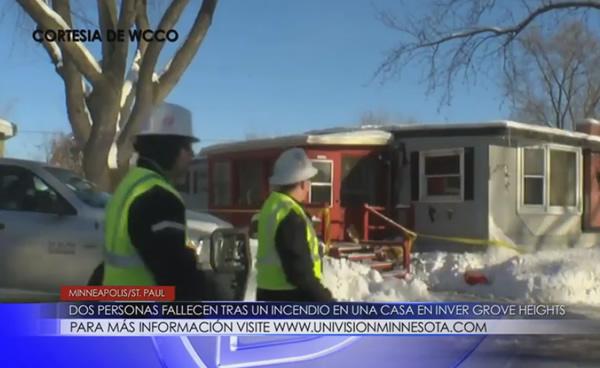 Dos personas fallecen tras un incendio en Inver Grove Heights