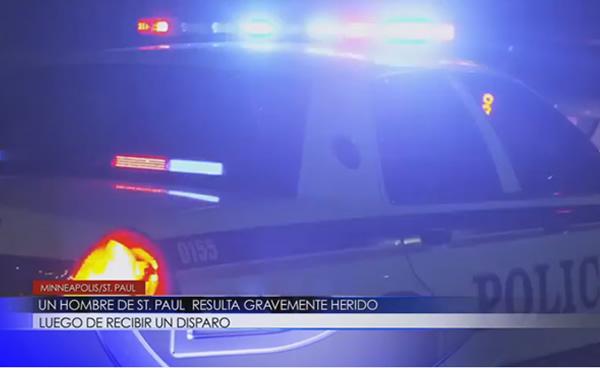 Hombre de St. Paul resulta gravemente herido luego de recibir un disparo