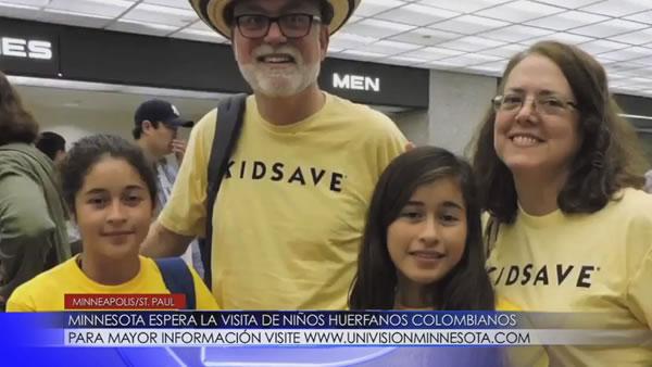 Minnesota espera la visita de niños huérfanos colombianos