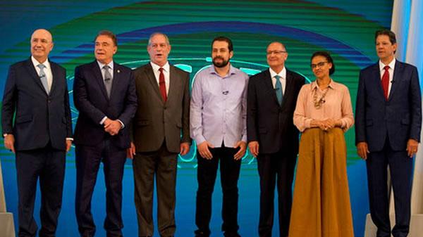 Último debate presidencial en Brasil se centra en Bolsonaro