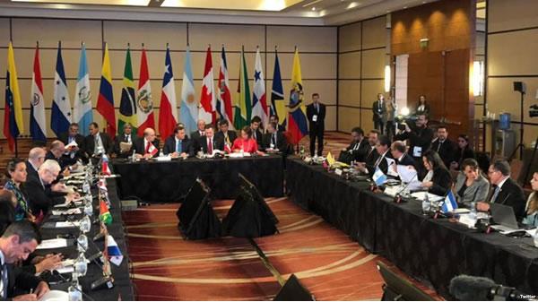 Cancilleres Grupo de Lima se reúnen en Chile por crisis en Venezuela