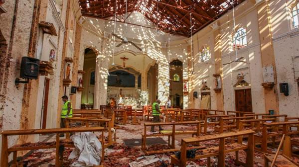 "Pompeo: ""Varios estadounidenses"" muertos en ataques en Sri Lanka"