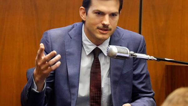 Ashton Kutcher testifica en caso de asesinato