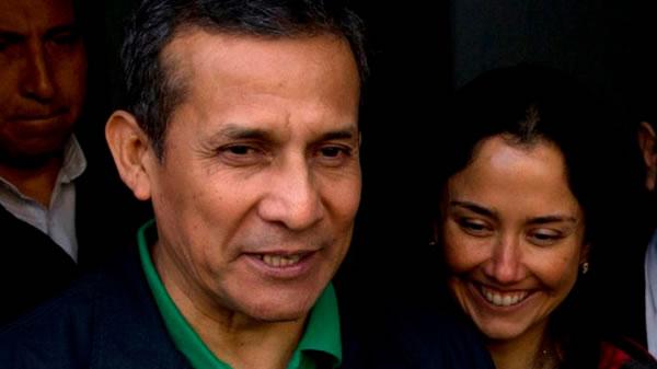 Expresidente Humala y esposa acusados en relación a sobornos de Odebrecht
