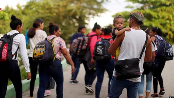 Migrantes se apresuran a entrar a México antes de duro operativo de seguridad