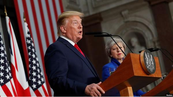 "Trump reitera que México debe frenar ""invasión"" de inmigrantes"