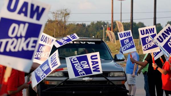 Casa Blanca dice no estar involucrada en contrato entre la UAW y GM
