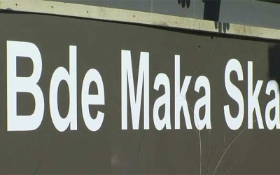 cuerpo en Bde Maka Ska