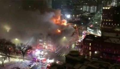 incendio en Hotel Drake