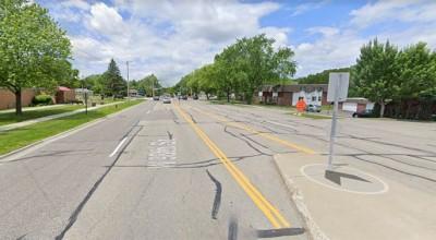 accidente fatal peatonal en Bloomington