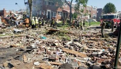 Explosión sacude un vecindario de Baltimore
