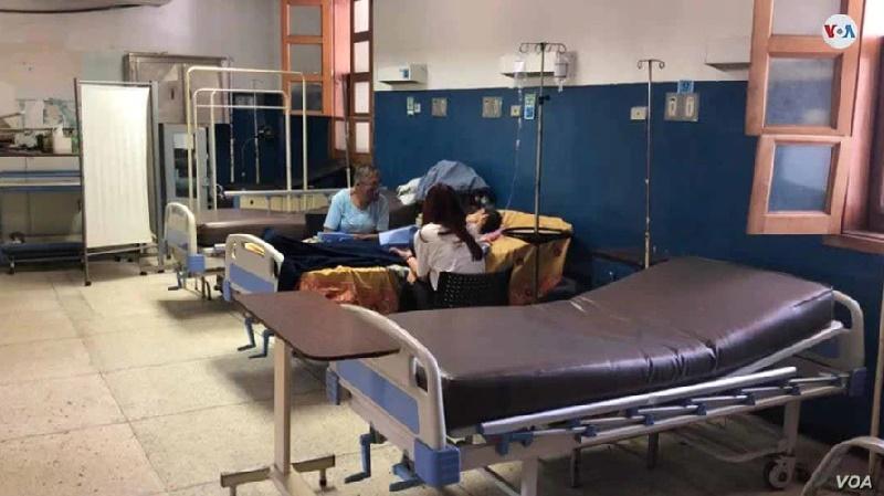 Crisis hospitalaria en Venezuela queda en evidencia