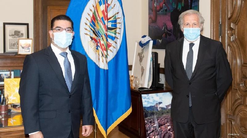 El combate a la corrupción centra la visita del fiscal general de El Salvador a Washington