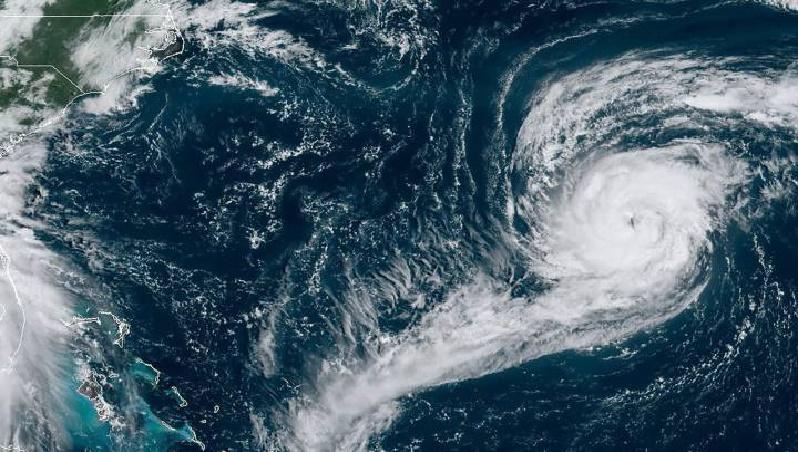 El huracán Sally sube a categoría dos y continúa fortaleciéndose
