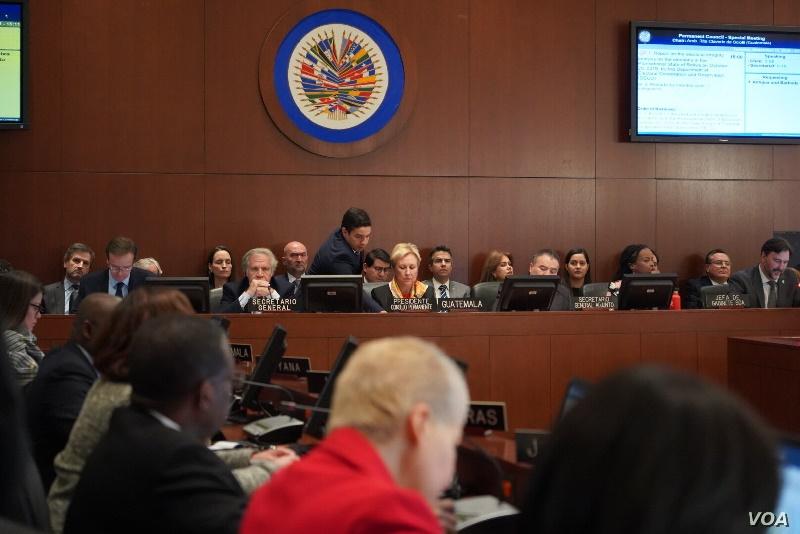 OEA insta a Nicaragua a reformar su sistema electoral antes de mayo del 2021