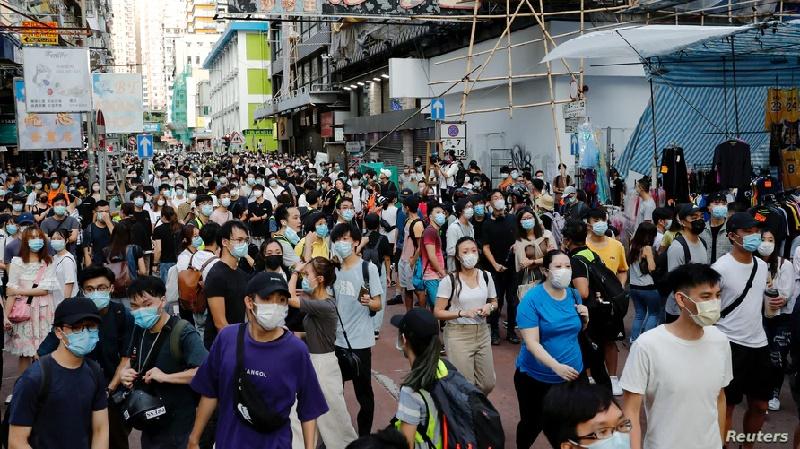 EE.UU. planea sancionar a bancos vinculados a la represión en Hong Kong