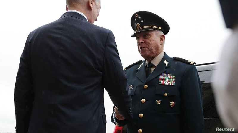 EE.UU. pedirá retirar los cargos contra exsecretario de Defensa de México