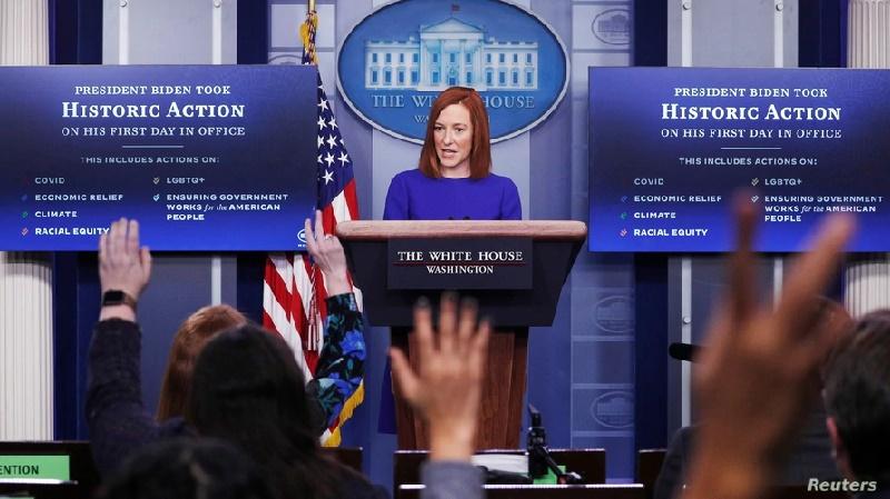 """La Casa Blanca expresa su respeto por una prensa """"libre e independiente"""""""