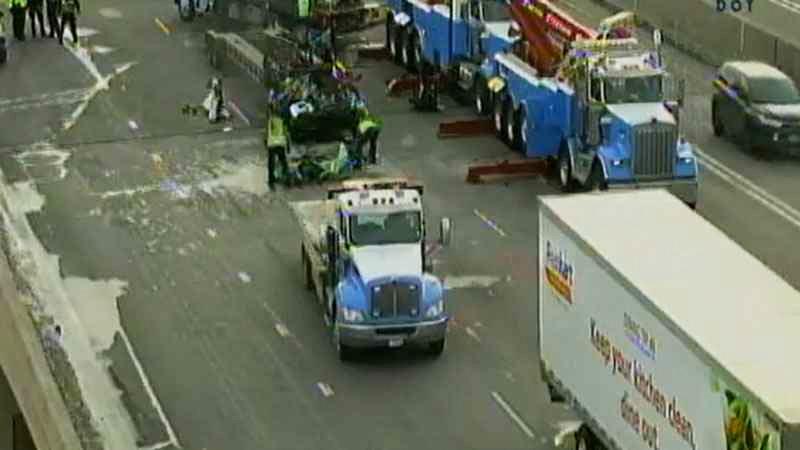 Accidente de tránsito en Little Canada