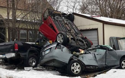 Policía de Minneapolis investiga accidente de tránsito