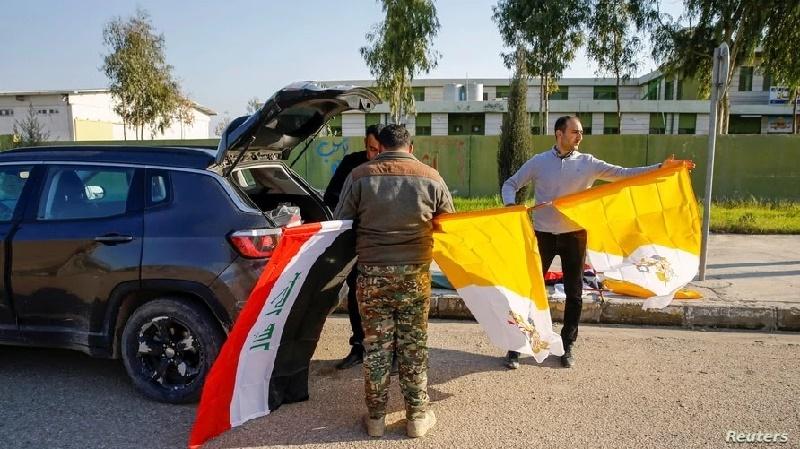 Católicos iraquíes esperan al papa Francisco con esperanza y preocupación