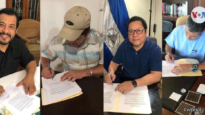 Líderes políticos nicaragüenses forman alianza electoral 'Unidad Nicaragua Primero'