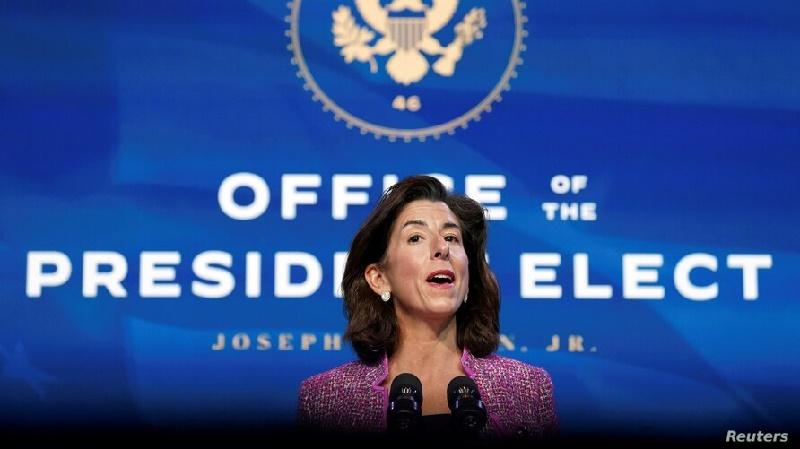 Senado confirma nueva secretaria de Comercio de la Administración Biden