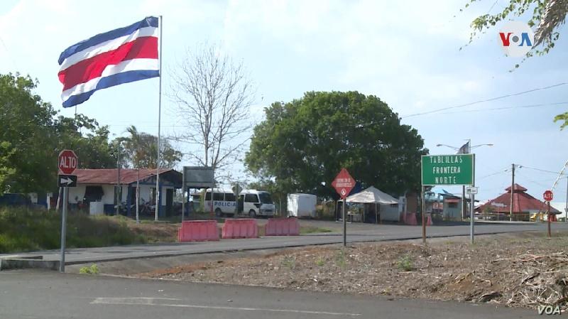 Casi la mitad de los que llegan por tierra a Costa Rica son nicaragüenses