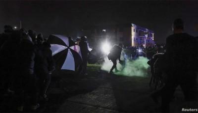 Tercera noche de disturbios en Minnesota