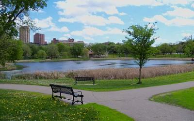 estanque de Loring Park