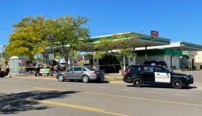 Asesinan a una persona en una estación de servicio de St. Paul
