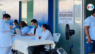 cifra de vacunados contra COVID-19 en Nicaragua