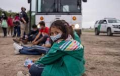 abandonos de niños en la frontera sur de EE.UU.
